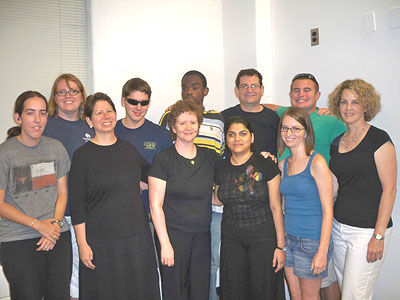 Deaf-Blind Young Adults with HKNC, and AADB Staff