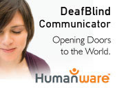 Humanware - DeafBlind Communicator